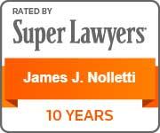 Super Lawyers, James Nolletti
